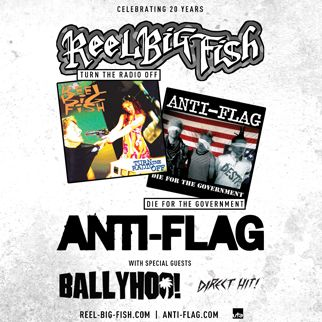 Reel Big Fish & Anti-Flag at Roseland Theater