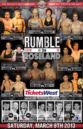 Rumble At The Roseland at Roseland Theater