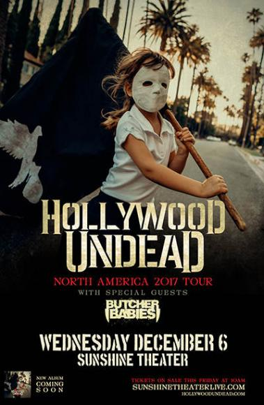 Hollywood Undead & Butcher Babies at Roseland Theater