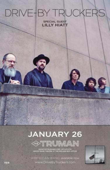 Drive By Truckers & Lilly Hiatt at Roseland Theater