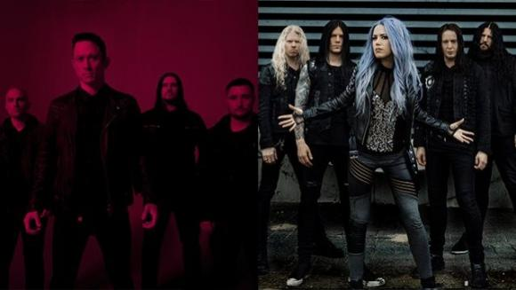 Trivium & Arch Enemy at Roseland Theater