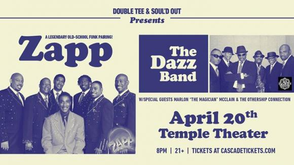 Zapp & The Dazz Band at Roseland Theater