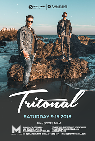 Tritonal at Roseland Theater