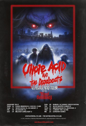 Uncle Acid and The Deadbeats at Roseland Theater