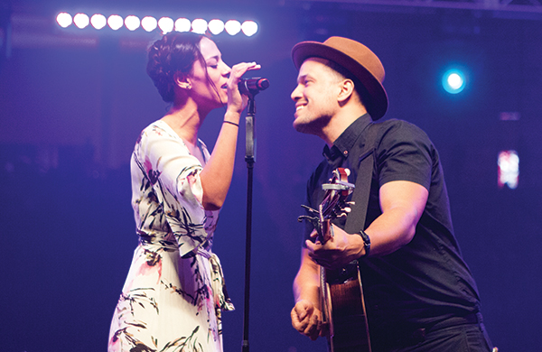 Johnnyswim at Roseland Theater