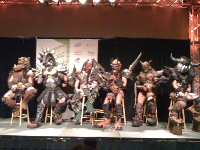 GWAR at Roseland Theater