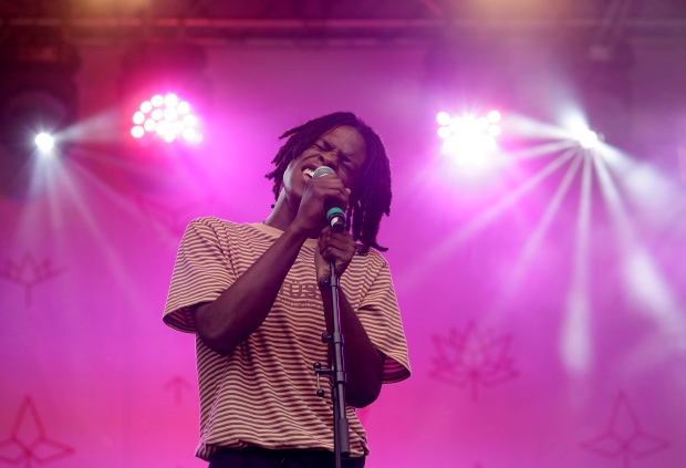 Daniel Caesar at Roseland Theater