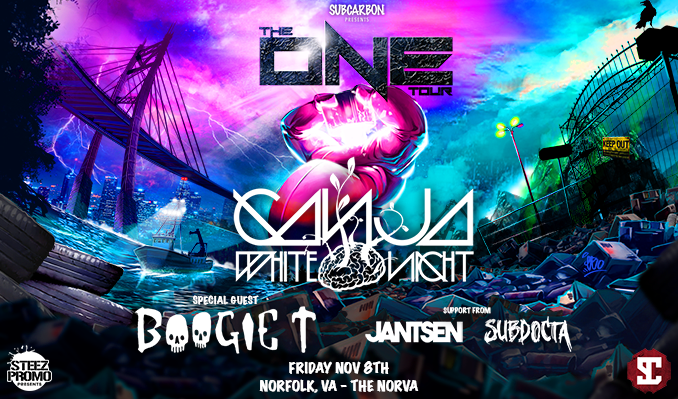 Ganja White Night, Boogie T, Jantsen & SubDocta at Roseland Theater
