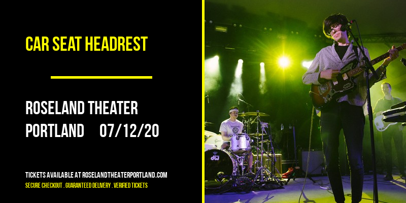 Car Seat Headrest at Roseland Theater