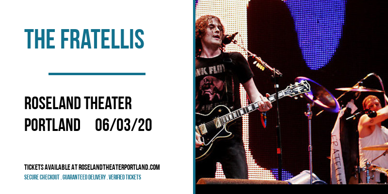 The Fratellis at Roseland Theater