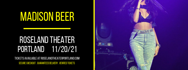 Madison Beer at Roseland Theater