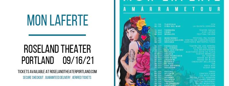 Mon Laferte at Roseland Theater