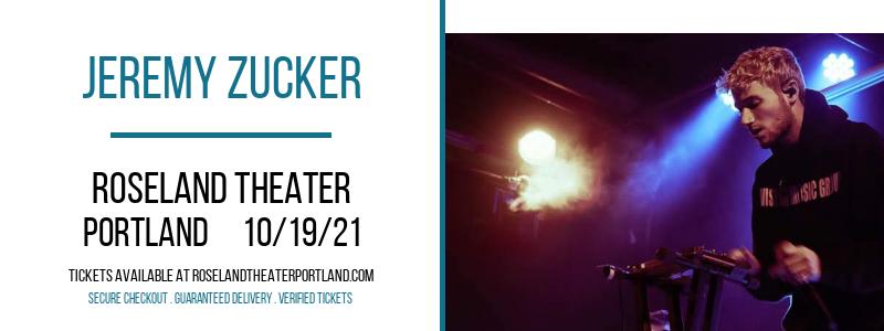 Jeremy Zucker at Roseland Theater