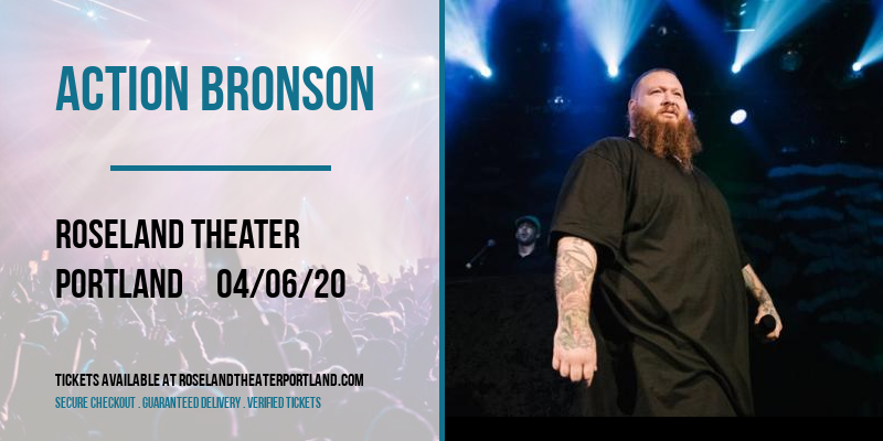 Action Bronson [CANCELLED] at Roseland Theater