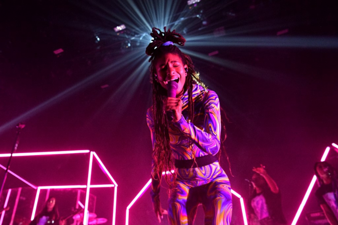 Willow Smith at Roseland Theater