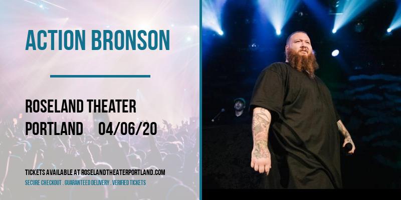 Action Bronson [POSTPONED] at Roseland Theater