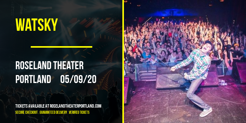 Watsky [CANCELLED] at Roseland Theater