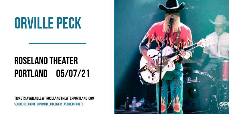 Orville Peck [CANCELLED] at Roseland Theater